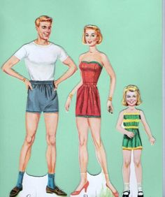 Here's the Bride Paper Dolls by Whitman 1960
