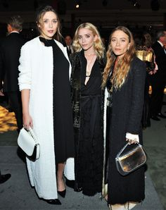 Lizzie, Ashley, and Mary-Kate attending the 2016 LACMA Art & Film Gala presented by Gucci in Los Angeles, October 29, 2016