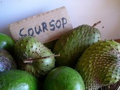 @: Soursop Fruit 100 Fold Stronger At Killing Cancer Than Chemotherapy [Also Known As Graviola + Guanabana]