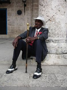 Old Fashion In Havana Cuba Photograph