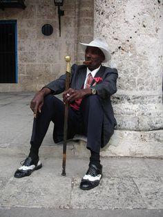 Old Fashion In Havana Cuba Photograph