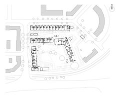 Image 30 of 37 from gallery of Marmalade Lane Cohousing Development / Mole Architects. Photograph by David Butler Mole, Social Housing, Image 30, Apartment Plans, Marmalade, House Floor Plans, Concrete, How To Plan, Gallery