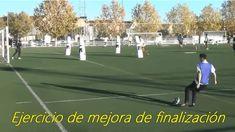 Ejercicio de finalización Drill, Tennis, Soccer, Sports, Football, Exercises, Hs Sports, Hole Punch, Futbol