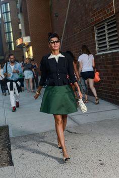 Неделя моды в Нью-Йорке весна-лето 2016: street style. Часть 1 (фото 2)