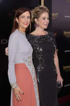 #KristenWiig and #ChristinaApplegate are seen at the 'Anchorman 2: The Legend Continues' U.S. premiere at #Beacon Theatre on December 15, 2013 in New York City. See who else has been spotted here: http://celebhotspots.com/hotspot/?hotspotid=6567&next=1