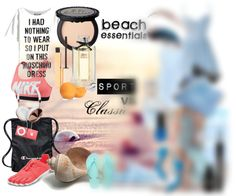 My beach essentials (1) : sporty style for an healthy summer