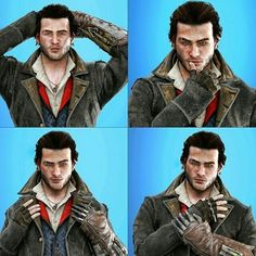 Assassins Creed Jacob, Cry Of Fear, All Assassin's Creed, Drawing Challenge, How To Look Better, Cosplay, Arno, Zbrush, Videogames
