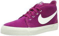 online store 90a6c cd655 Nike Toki U Suede 631649-500 Damen High-top Rot (Bright Magenta Sail-Lt Bs  Grey) 40.5  Amazon.de  Schuhe   Handtaschen