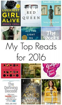 My Top Reads for 2016 - Her Heartland Soul