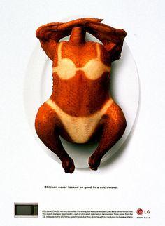 "chicken advertising | CHICKEN"" Print Ad by Singleton Ogilvy & Mather | Creative Advertising ..."