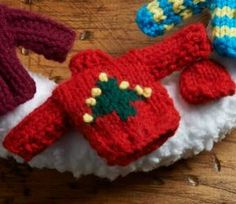Holiday Sweater Wreath