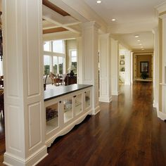 built in dining room buffet - Google Search