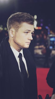 Taron Egerton, good god get a load of this gorgeous guy