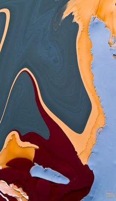 Artwork by Paul Juno. This section is dedicated to loosely mixed latex paint and oil seen through a macro lens.