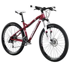 Diamondback Bicycles 2014 Lux Women's Mountain Bike (27.5 Inch Wheels), 15-Inch, Red
