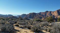 Hiking at Red Mountain Resort near St. George, Utah