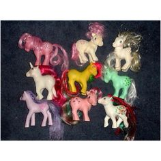 My little ponies. 80's style.