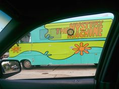 If remember correctly Scooby Doo Mystery Machine was a van not a Bus! Hahaha #StillVeryKool though