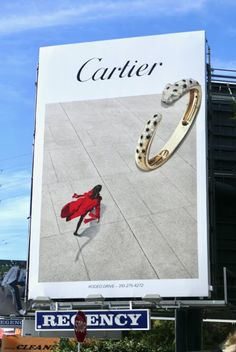 Welcome to the first fashion and beauty billboard roundup of 2020 , and as you'll see, the skies of Los Angeles have been as busy and stylis. New James Bond, Luxury Luggage, Italian Luxury Brands, Billboard Design, Sunset Strip, New Cosmetics, Beckham Jr, Fashion Labels, World Of Fashion