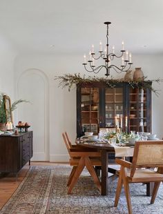 Home Interior, Interior Design, Vintage Dining Chairs, Amber Interiors, Dining Room Inspiration, Dining Room Design, Dining Rooms, Dining Area, Dining Table