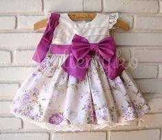 Olha que lindo ficou o vestido da Manuela!!! Ela comemorou seu primeiro aniversário, dia 26 agora, em Natal!!! A mamãe Lilian, queria cor...