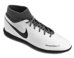 Chuteira Society Nike Phantom Vision Club DF TF Azul e