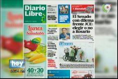 Portada De Los Principales Periódicos del Lunes 12 De Septiembre del 2017