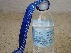 cheap and easy water bottle strap so the girls can have a water bottle with them at all times.