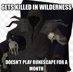 Put your hands up if this is you.   Thanks to @alixfusion on Twitter for this one.   #RuneScape