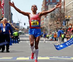 """You earn it. You have to fight for it. It's never given to you."" – Meb Keflezighi"