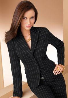 pin stripe suit