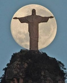 Christ the Redeemer in Rio de Janeiro, Brazil.  This is on my list of places to visit before I die.
