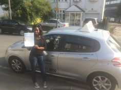 Well done to Victoria Clark from #Battersea who passed her test in Morden.