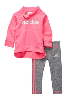 adidas | Twilight Pullover Set (Baby Girls) | Nordstrom Rack