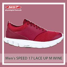 The Speed 17 range has been conceived keeping athletes in mind. It boasts an unparalleled comfort and performance with spirited in design. Precisely engineered with breathable air mesh upper and boasting our unique strobble construction working in harmony with a co-moulded flex shank. Available in Wine Shade. Runing Shoes, Shank, Athletes, Mesh, Footwear, Lace Up, Construction, Range, Unique