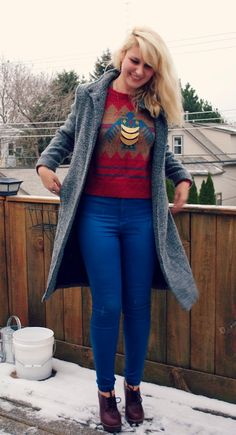 Stranger Than Vintage: What I Wore: The Winter Has Arrived Edition