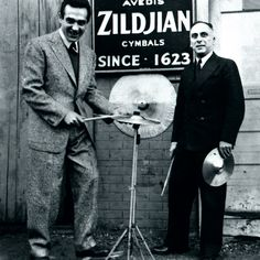 Avedis Zildjian - Armenian cymbal and drum sticks manufacturer based in America . Gene Krupa with Avedis Zildjian Armenian History, Armenian Culture, Famous Armenians, Zildjian Cymbals, Drum Accessories, The Little Drummer Boy, Vintage Drums, Cool Jazz, Jazz Artists