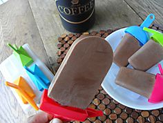Low Carb Mocha Protein Popsicles: No Sugar Added (coffee on a stick!) 29 calories/NO fat!