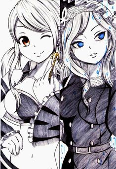 images of lucy and juvia - Buscar con Google