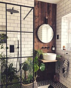 Erspähen Sie unsrige Nationalmannschaft welcher besten Dekorationsideen zum Besten von Badezimmer Verwandeln Sie Ihr Badezimmer in vereinigen echten Innengarten. Erwirtschaften Sie die Natur in Ihr Interieur. Unkonventionelles Badezimmer, Badezimmer Rustikal, Badezimmer Inspiration, Haus Und Heim, Badezimmer Innenausstattung, Badezimmer Renovieren, Haus Innenarchitektur, Haus Design, Badezimmer Design
