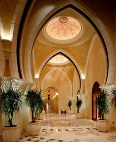 Luxury hotel interior design – utterly fabulous One  Only Royal Mirage, Dubai  | #hotel #homedecor #deavillas