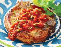 Try our Lime-Cilantro Pork with Salsa recipe for a quick and inexpensive dinner tonight. The pork is infused with the fantastic flavours of lime juice & cilantro. World Recipes, Home Recipes, Lime, Cheese Pairings, Mexican Food Recipes, Ethnic Recipes, Homemade Salsa, Salsa Recipe, Pork Roast