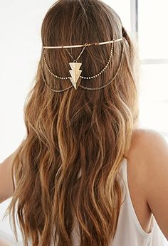 Triangle Pendant Headband | Forever 21 - 1000054158
