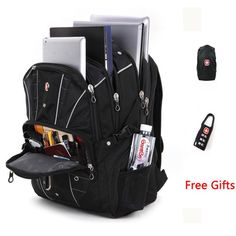 "Brand New Multifunctional Backpack High volume 5 Layer Travel bag Schoolbag Backpack for laptop 12""-17 inch"