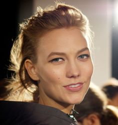 Backstage at NYFW with Karlie Kloss
