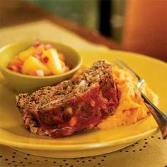 Chipotle Meat Loaf | MyRecipes.com My company café made this and its so good.  The recipes was from Cooking light.