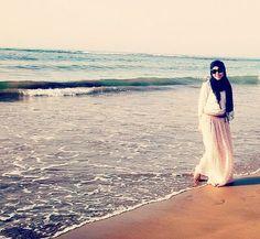 J'adoooore!!!! Beachy, flowy hijab