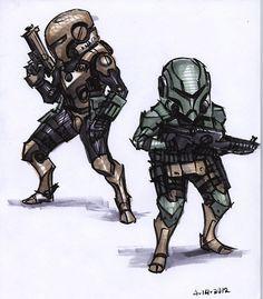 ArtStation - soldiers 2, Ben Hale