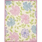 <strong>Kids Pink Flower Area Rug</strong> by Safavieh