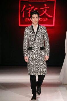 Eve de Cina Fall Winter 2015 Otoño Invierno #Trends #Menswear #Tendencias #Moda Hombre - Mercedes Benz Fashion Week China  M.F.T.
